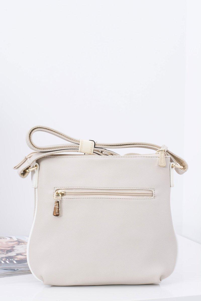 Beżowa Women's Handbag for Monnari Bagono