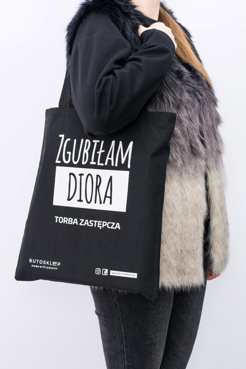 Black Canvas Bag I lost Dior