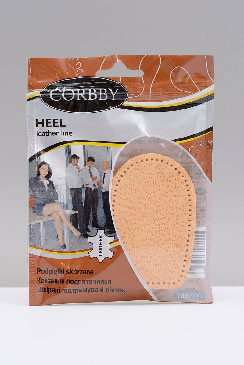 CORBBY Leather Heel