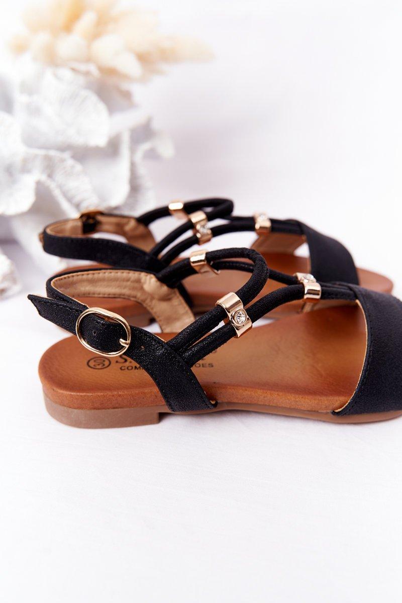 Children's Sandals S.Barski Comfort Black