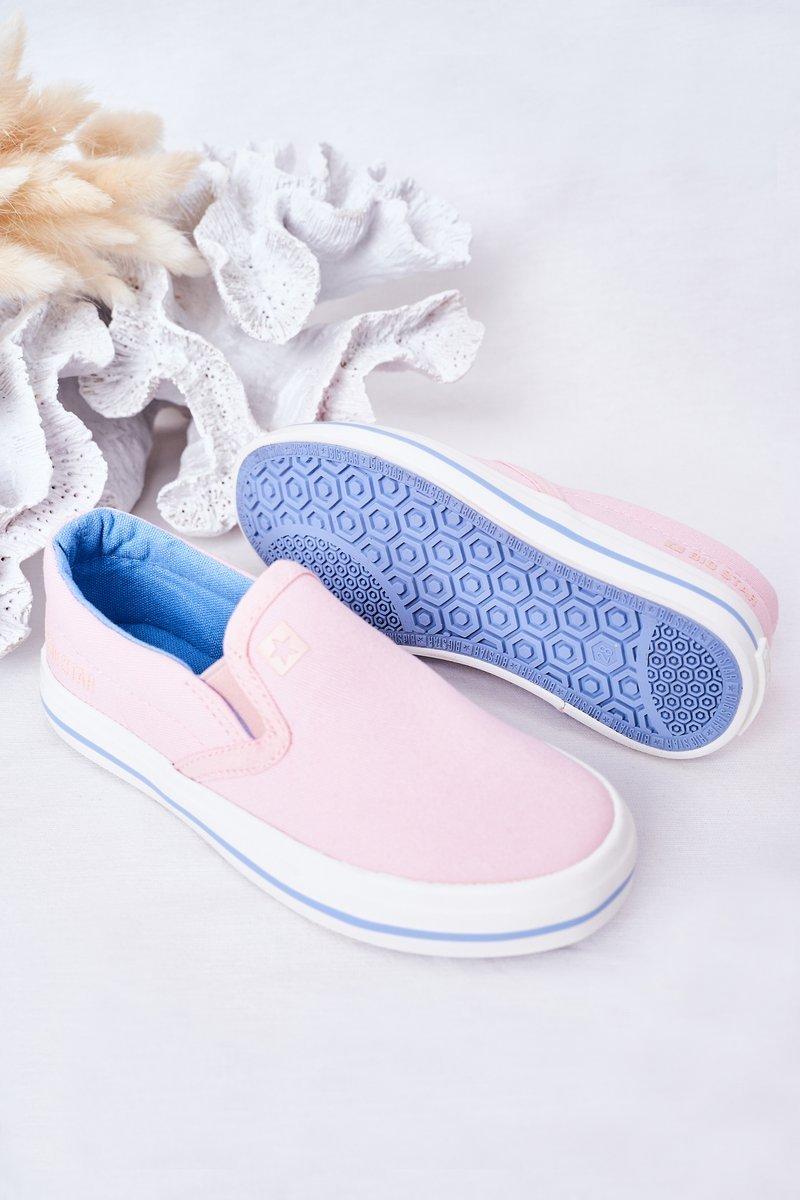 Children's Slip-On Sneakers Big Star HH374009 Pink