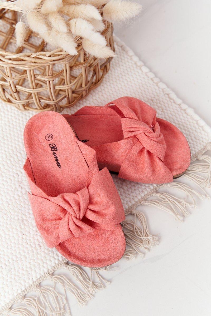 Children's Slippers On Cork Watermelon Little Wendy