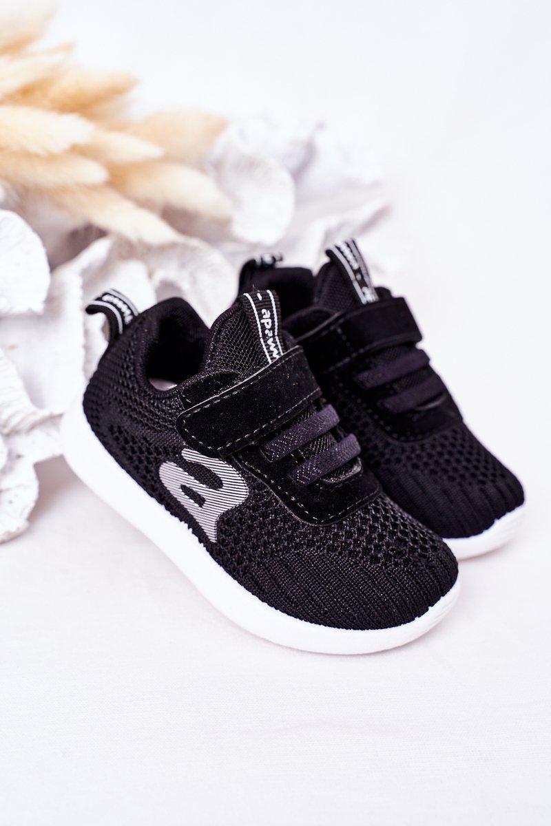 Children's Sport Shoes Black Little Sportsman
