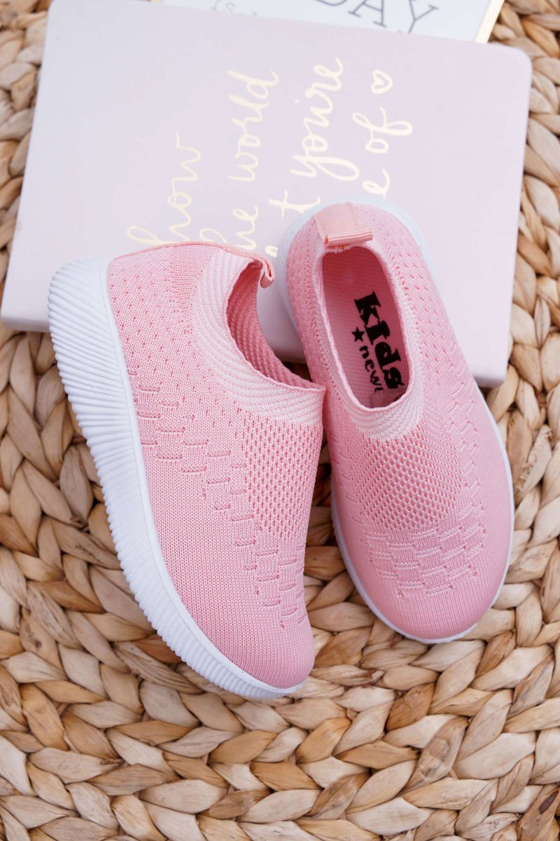 Children's Sport Shoes Youth Pink Lambi