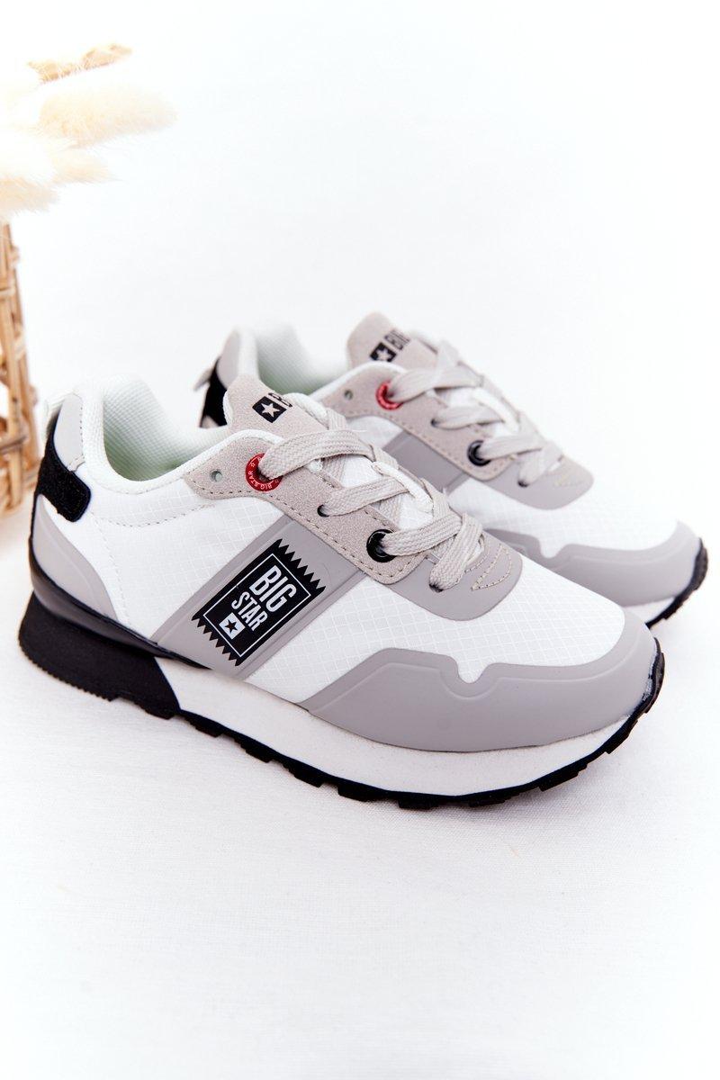 Children's Sports Shoes Memory Foam Big Star HH374168 White