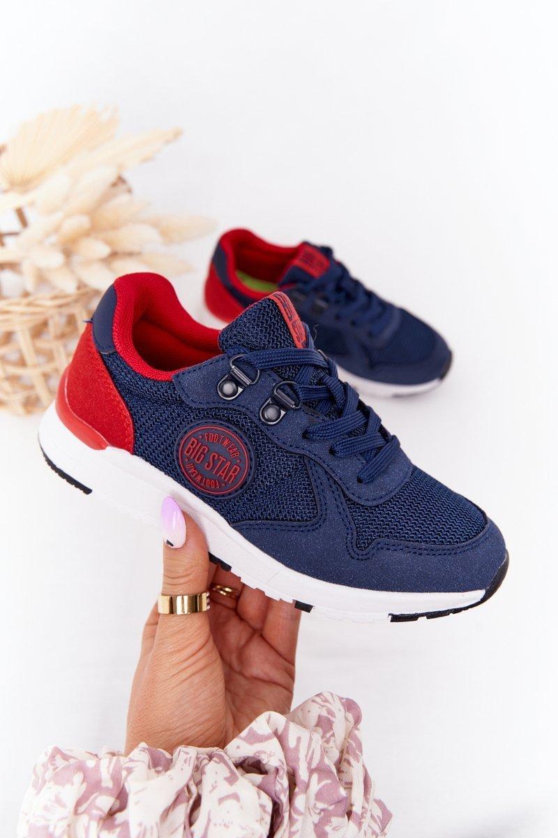 Children's Sports Shoes Memory Foam Big Star HH374175 Navy Blue