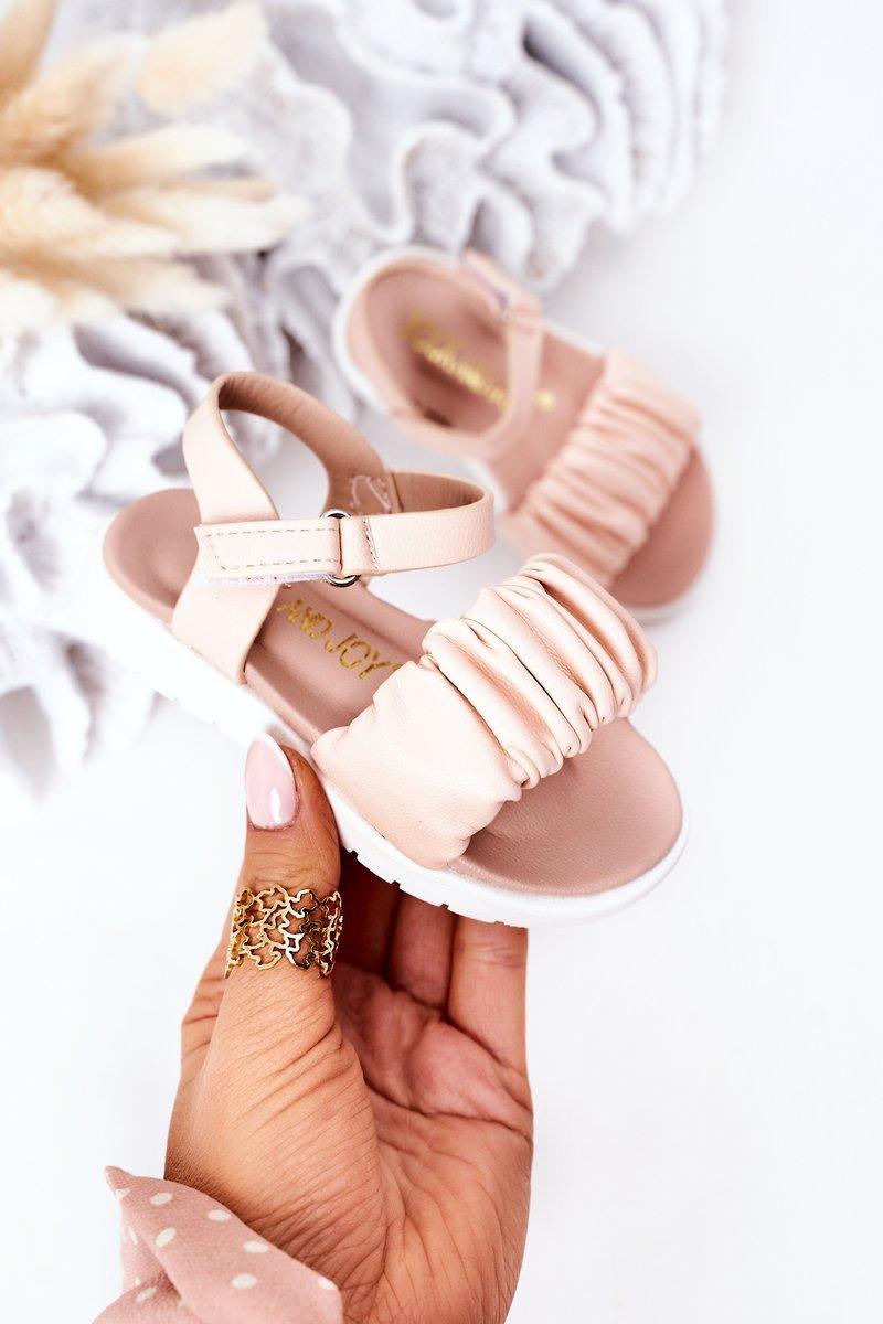 Children's Velcro Sandals Pink Aimy