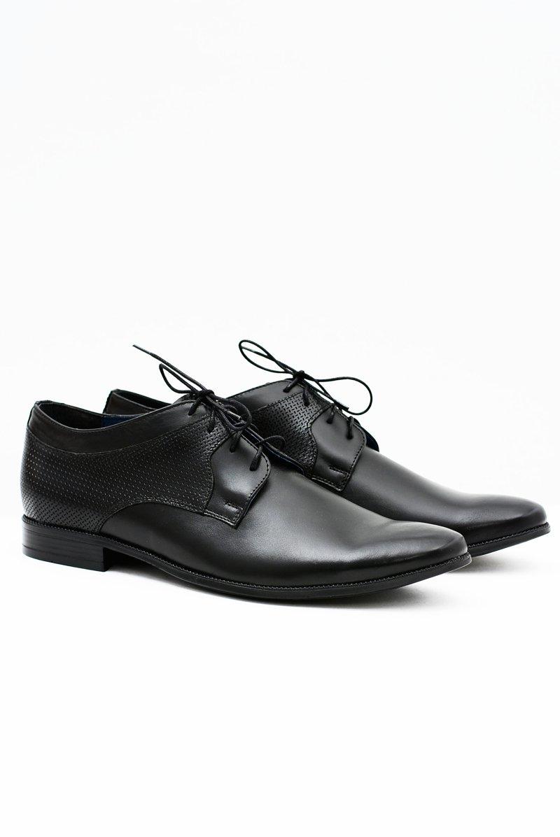 Classic Men's Leather Formal Low-Cut Shoes Ercole
