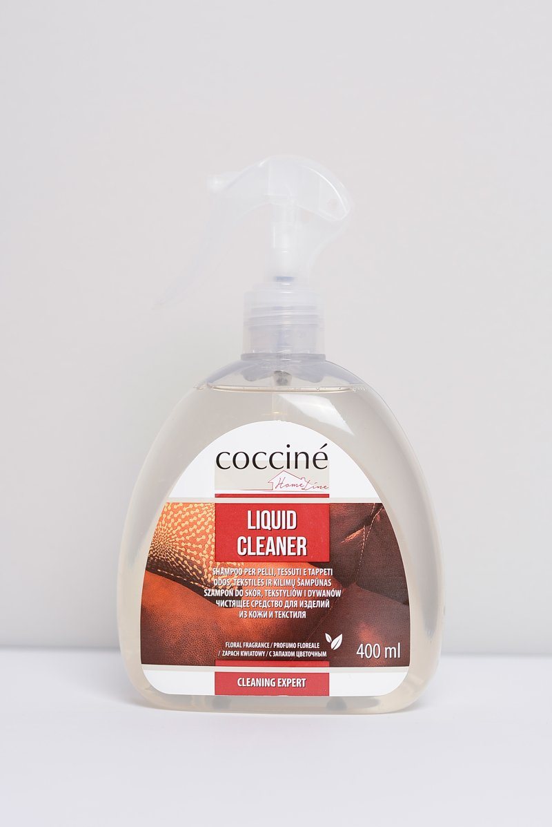 Coccine Szampon do Skór, Tekstyliów i Dywanów Liquid Cleaner