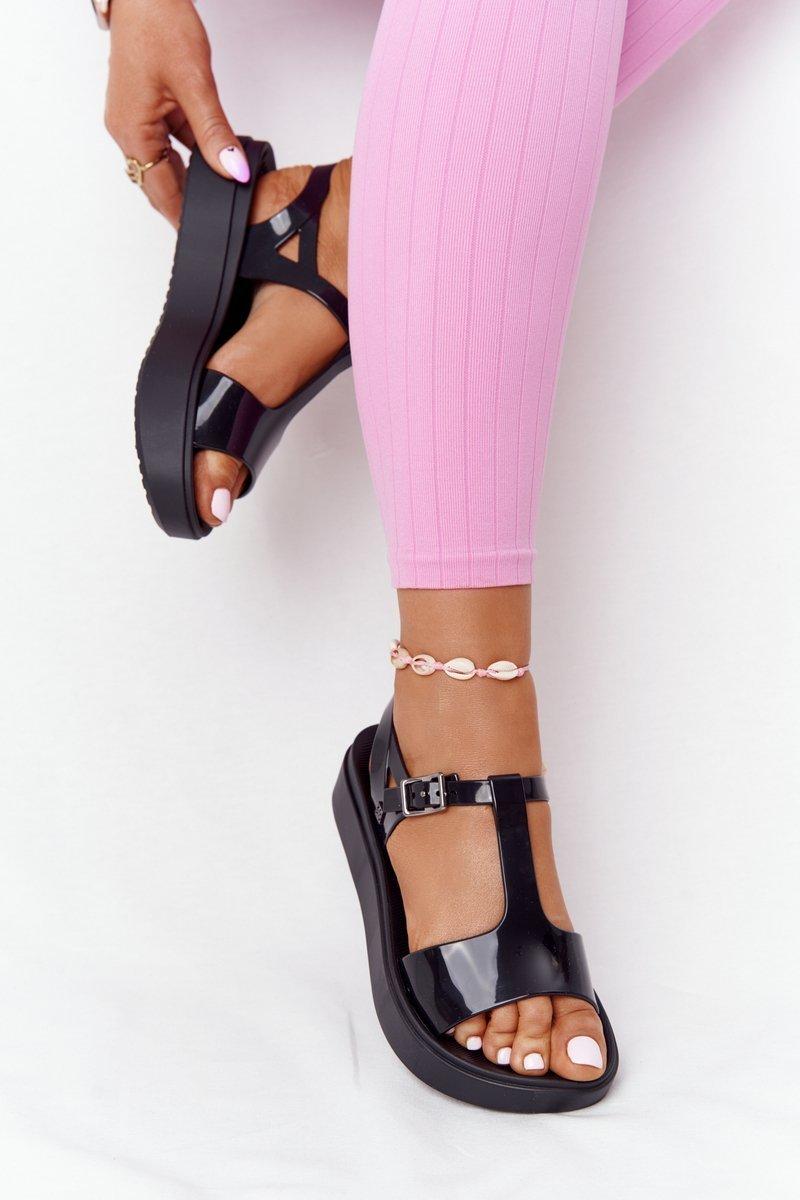 Fragrant Rubber Sandals Eco Friendly ZAXY HH285116 Black