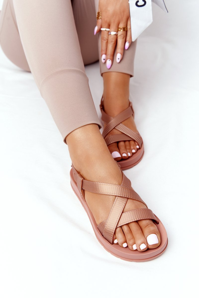 Fragrant Rubber Sandals Eco Friendly ZAXY HH285167 Nude