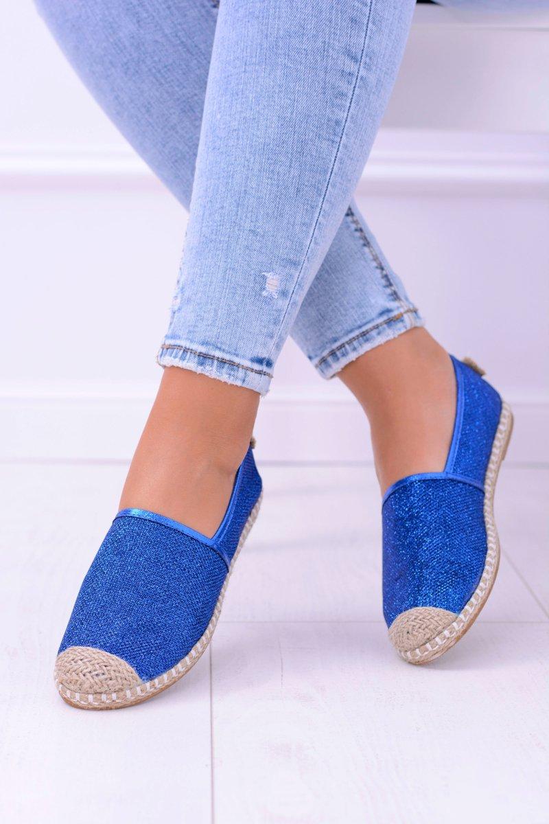 Glitter Espadrilles Lu Boo Blue