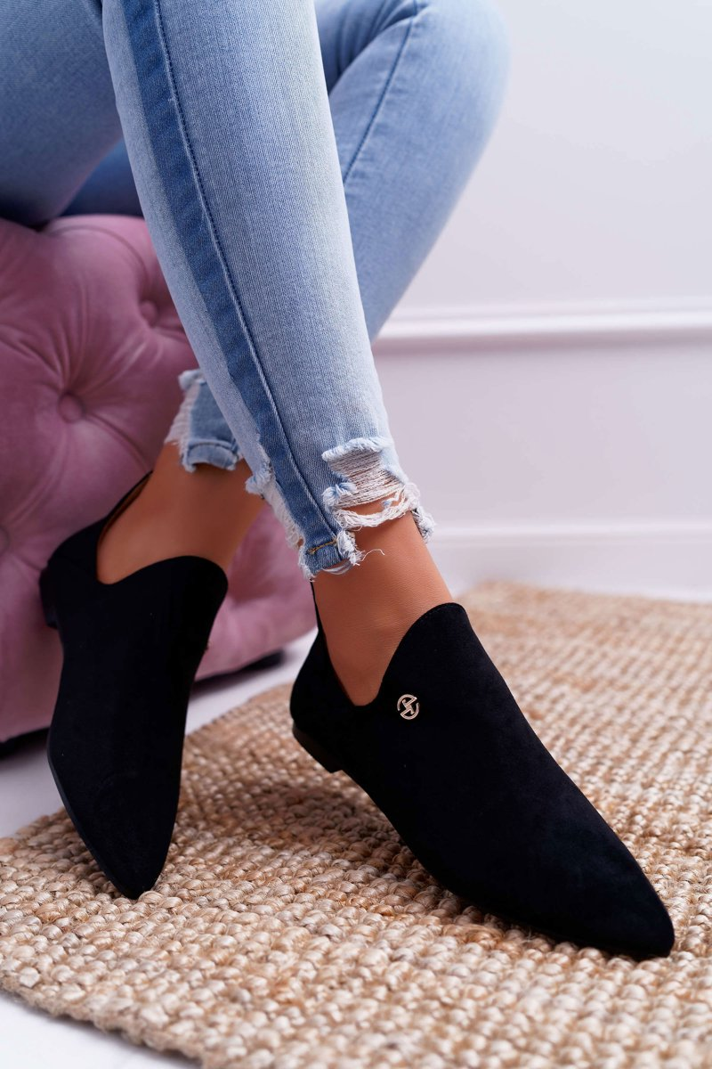 Lu Boo Boots With Cutouts Black Chelsea