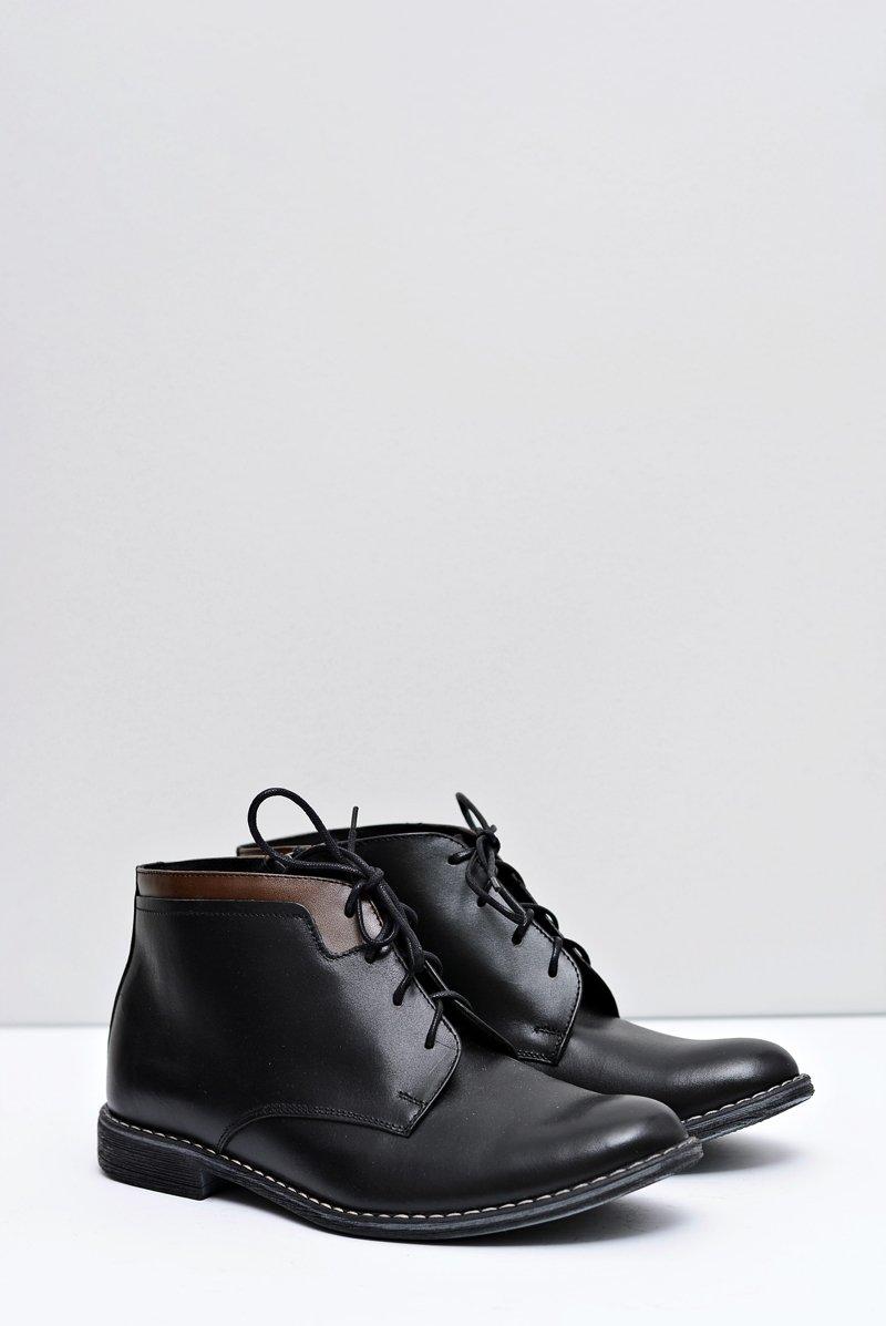 Men's Boots Warm With Zipper Black Mendez