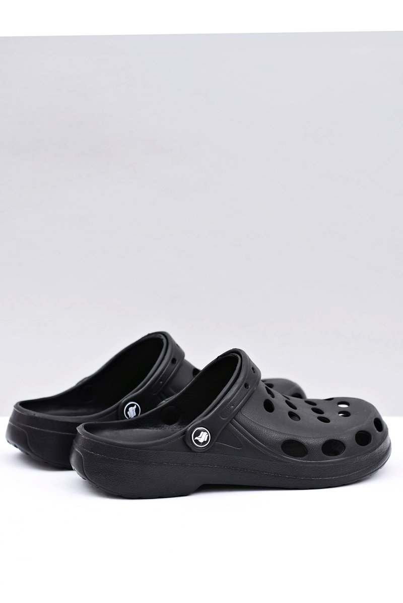 Men's Slides Sandals Crocs Black