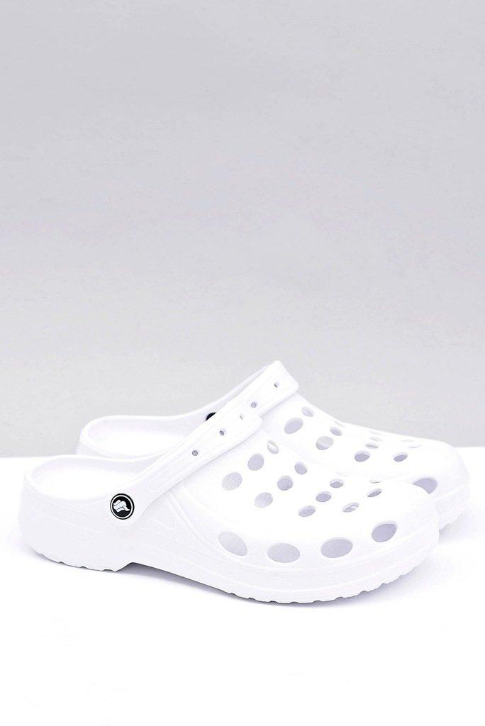 Men's Slides Sandals Crocs White