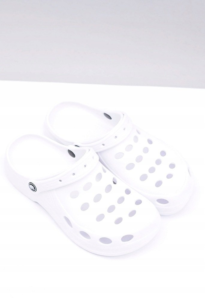 Men's Slides Sandals Crocs White
