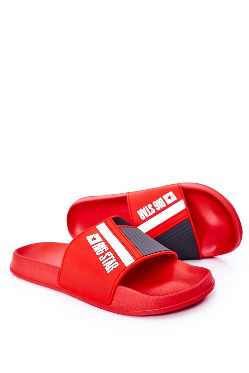 Men's Slippers Big Star HH174835 Red