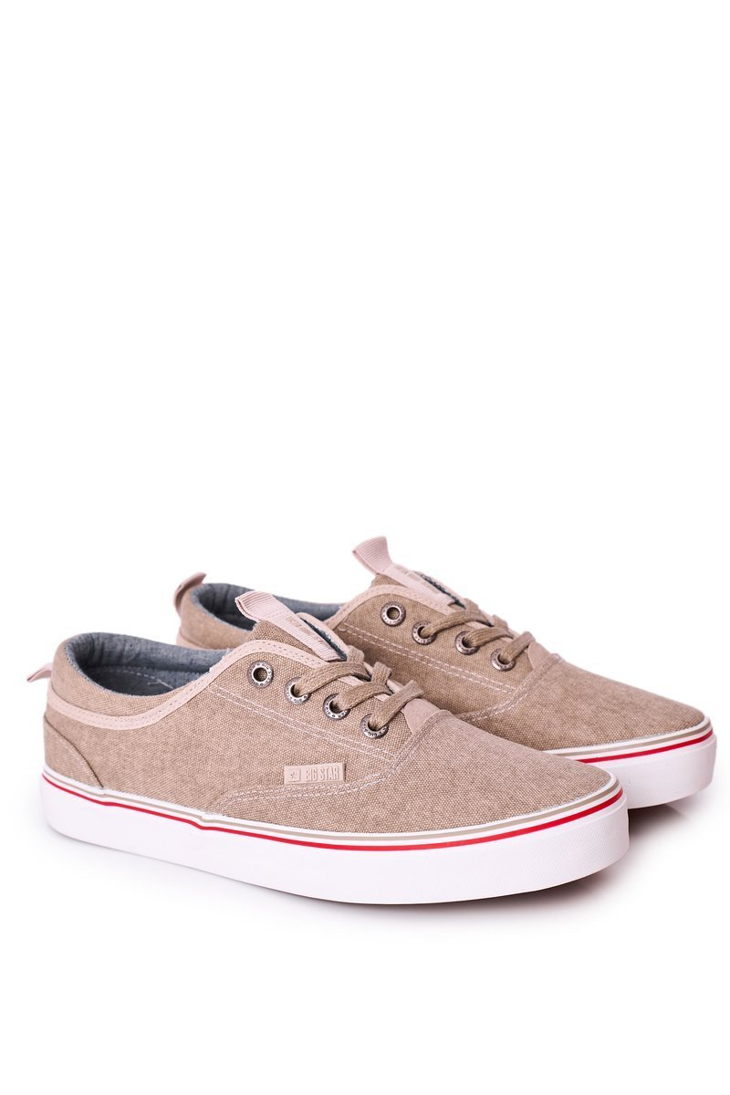 Men's Sneakers Big Star FF174069 Beige