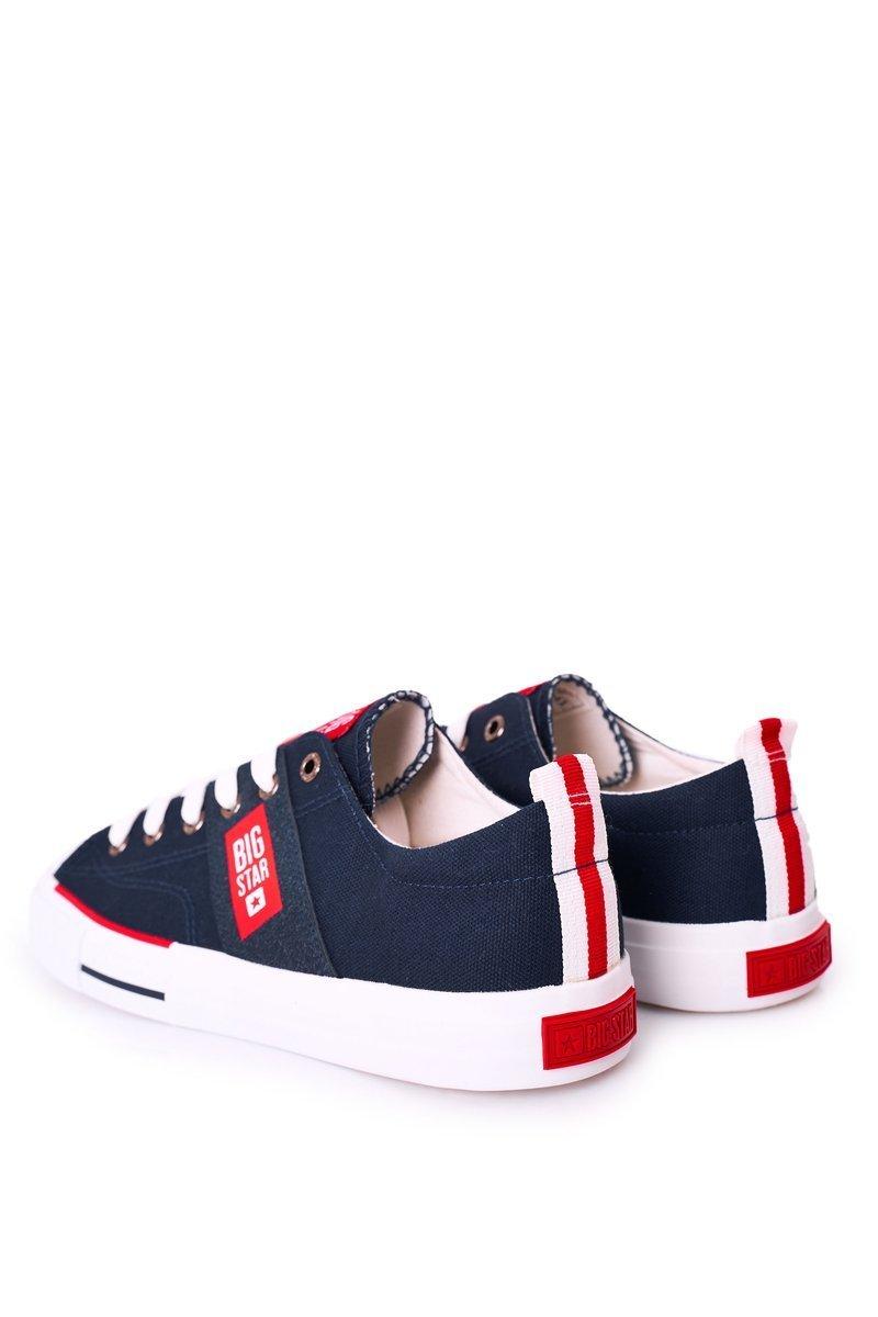 Men's Sneakers Big Star HH174041 Navy Blue