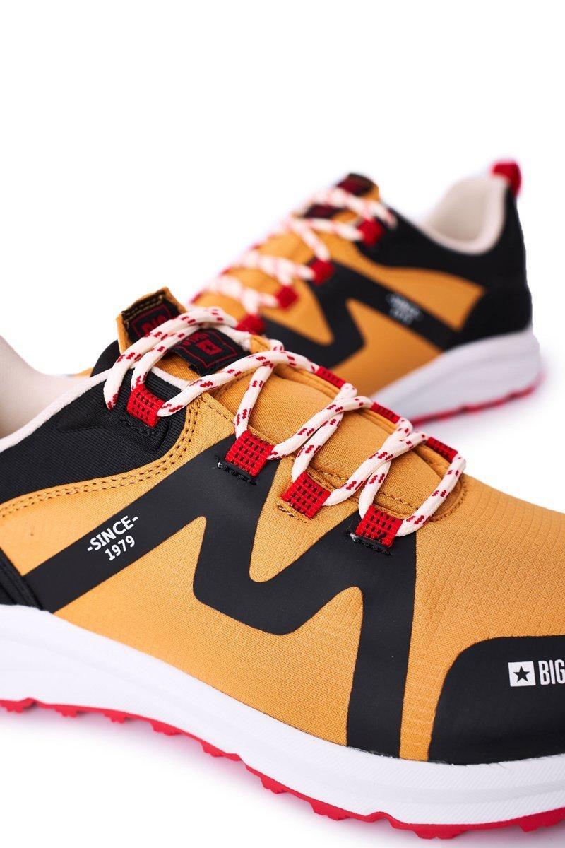 Men's Sport Shoes Memory Foam Big Star HH174087 Camel