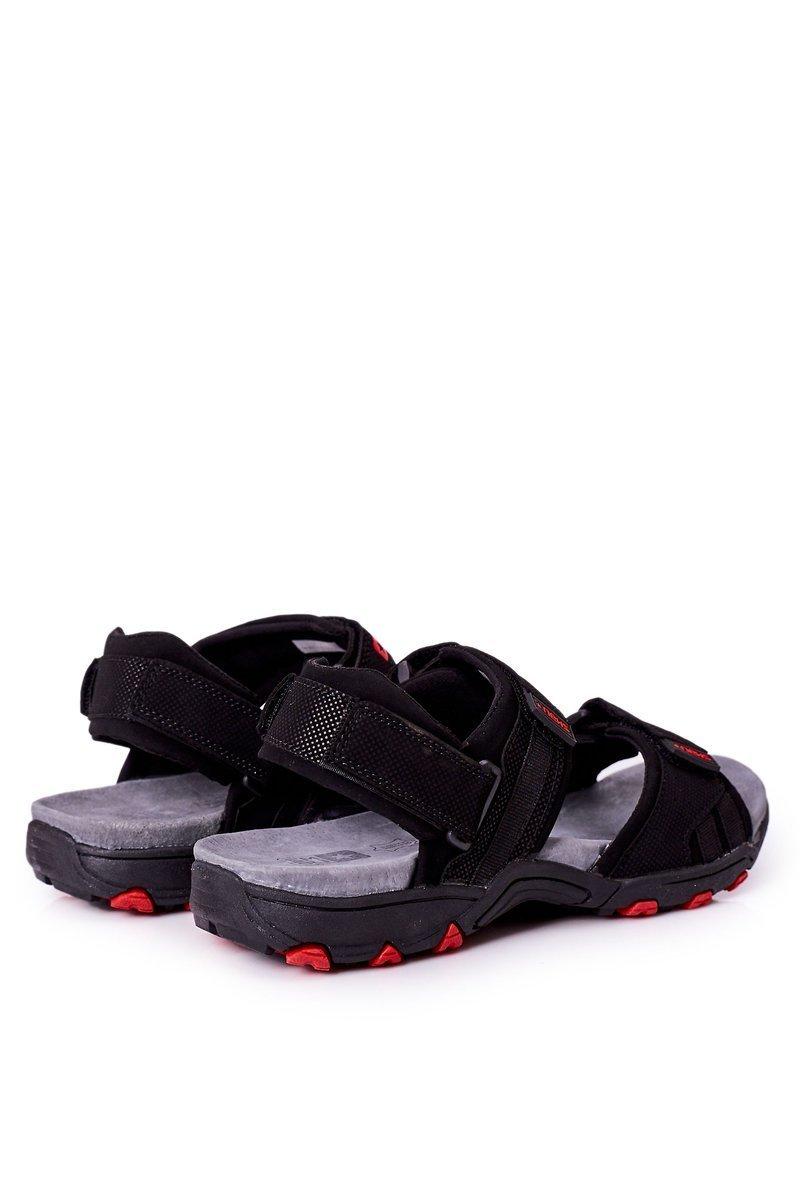 Men's Sports Sandals Black Else