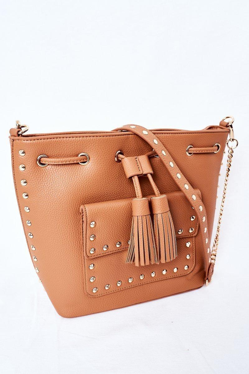 Messenger Bag On A Chain NOBO K4090 Brown