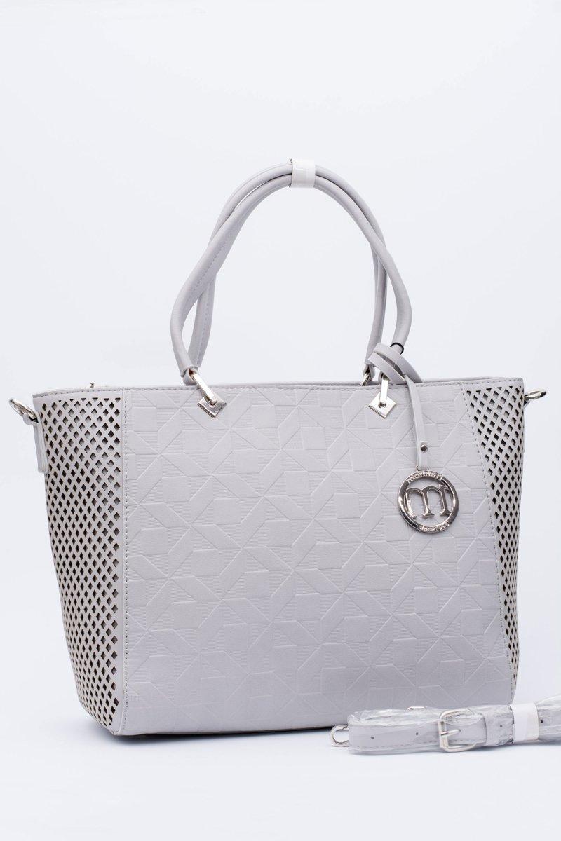 Monnari Bag Classic Shopper Grey