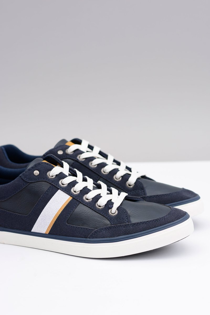 Navy Blue Men's Tennis Shoes Tony
