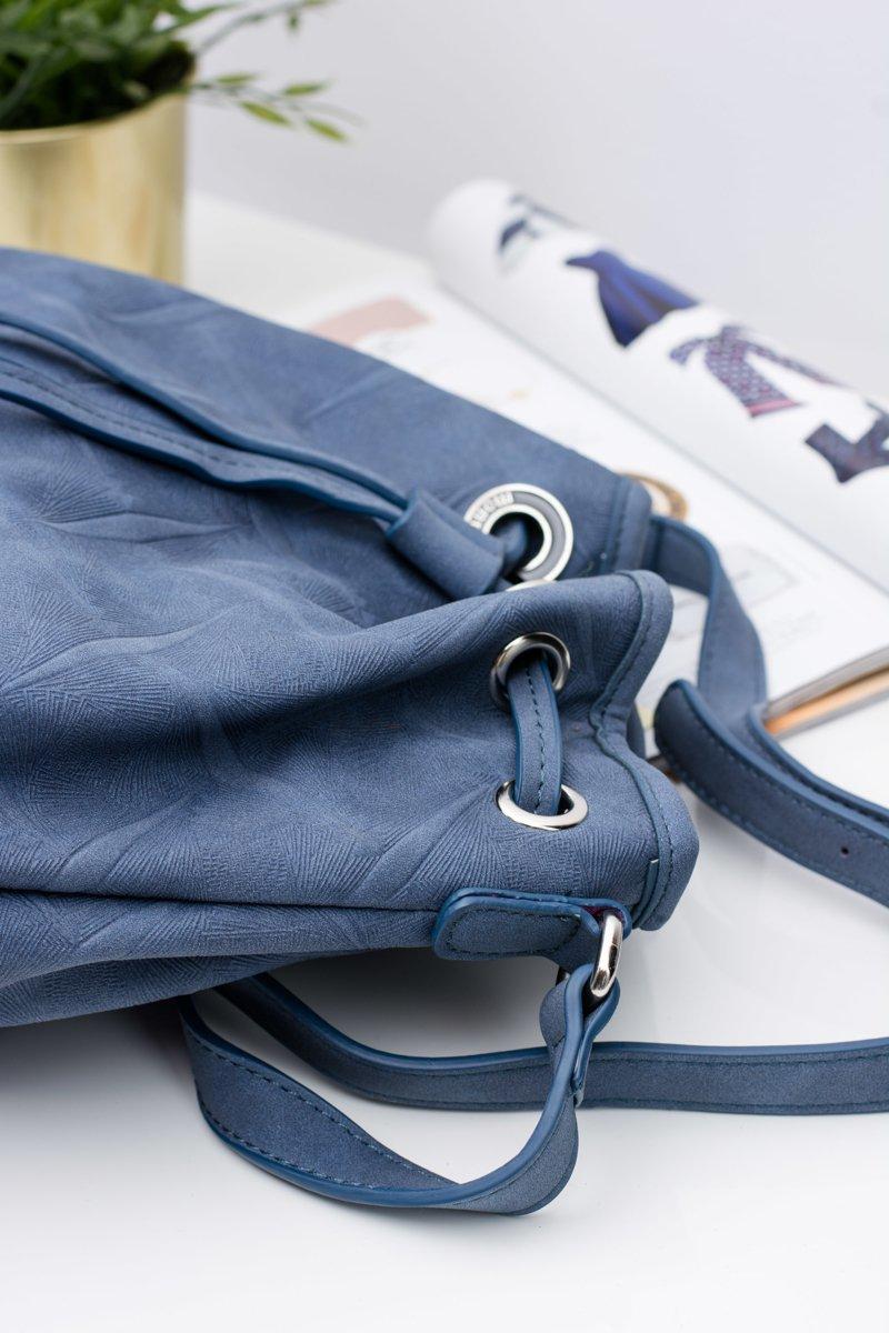 Navy Handbag Stylish Monnari Bag
