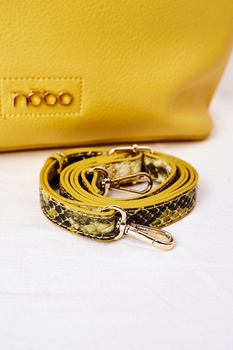 Shopper Handbag NOBO K3520 Yellow