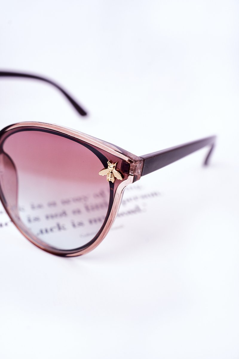 Sunglasses With A Fly Brown Ombre