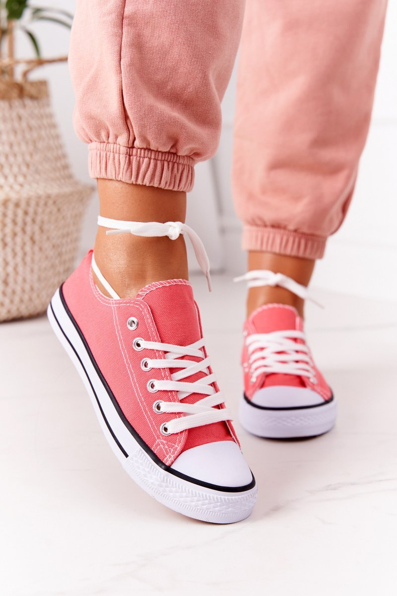 Women's Classic Sneakers Coral Omerta