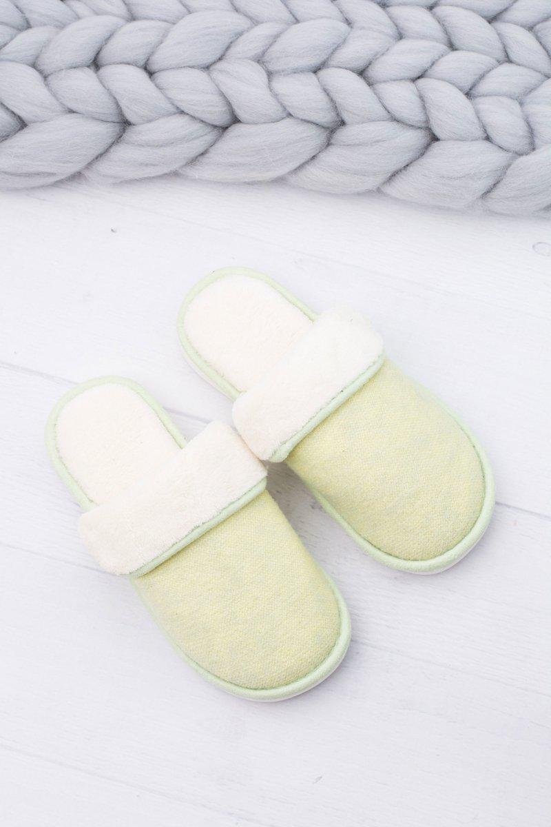 Women's Green Home Slippers Sleepy