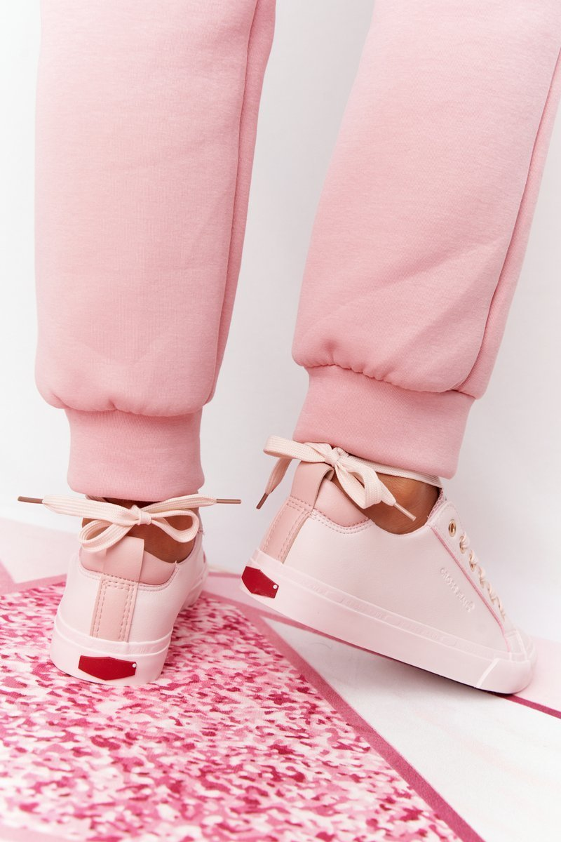 Women's Leather Sneakers CROSS JEANS HH2R4004C Pink