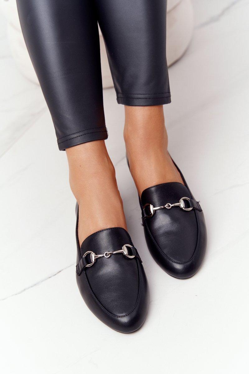 Women's Loafers Sergio Leone MK733 Black