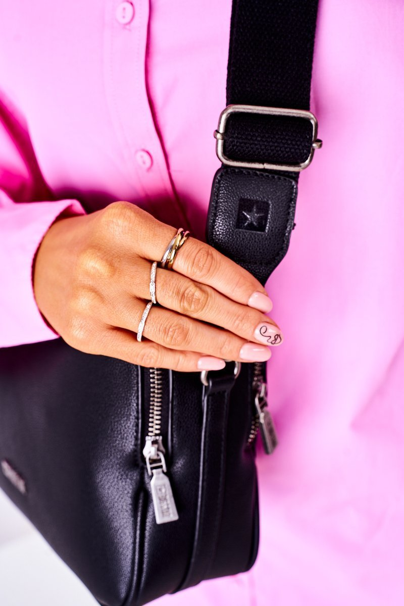 Women's Messenger Bag Big Star HH574083 Black