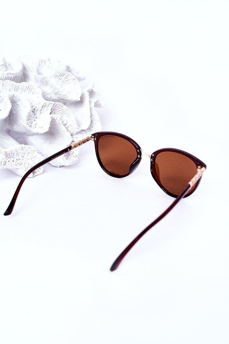 Women's Polarized Sunglasses Brown