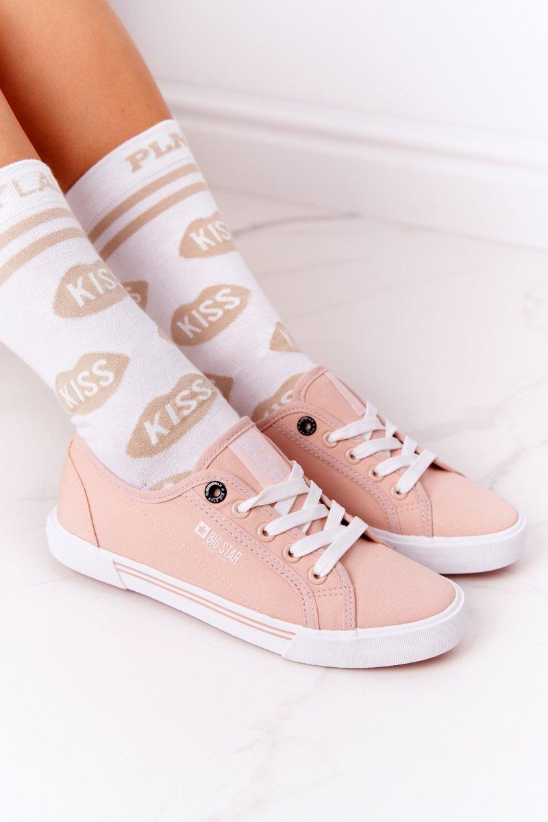 Women's Sneakers BIG STAR HH274060 Pink