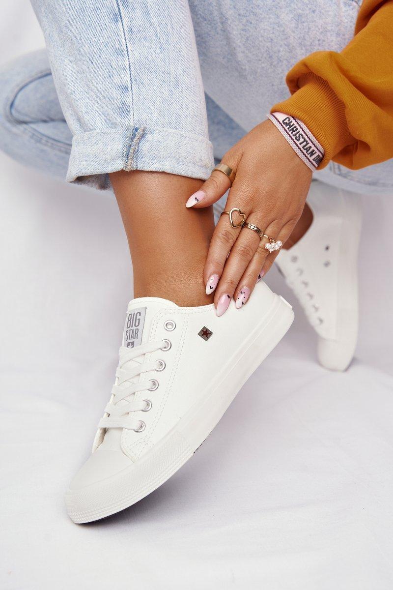 Women's Sneakers Big Star White V274869