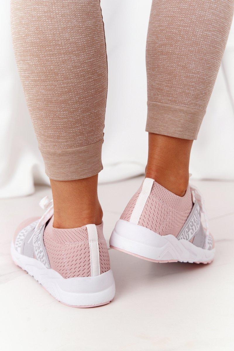 Women's Sneakers Memory Foam Big Star HH274353 Pink