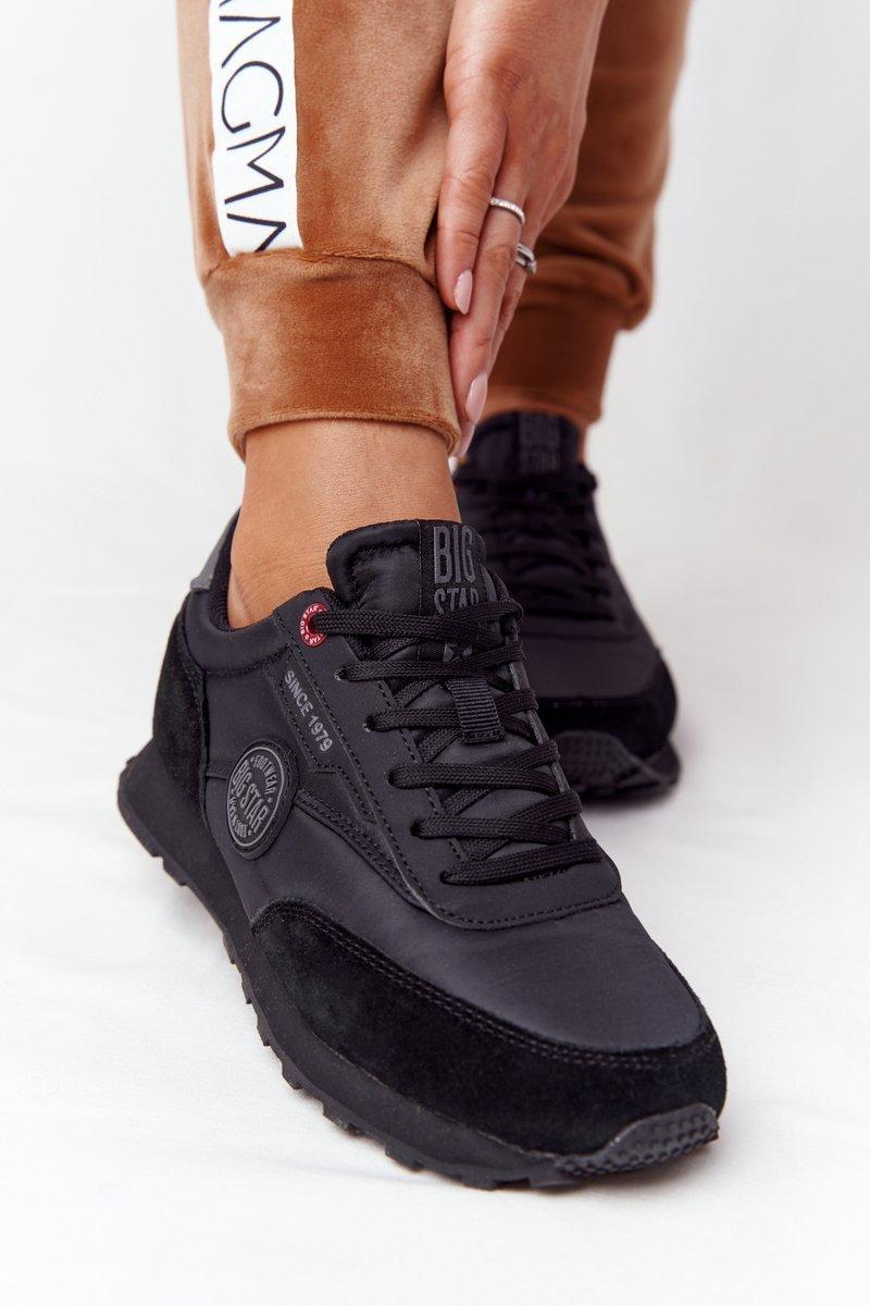 Women's Sneakers Memory Foam Big Star HH274528 Black
