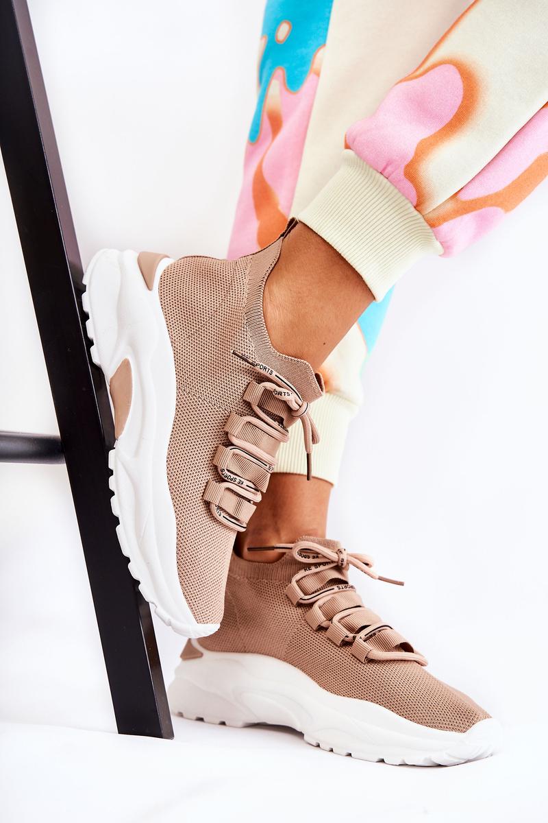 Women's Sport Sock Shoes Beige KeSport
