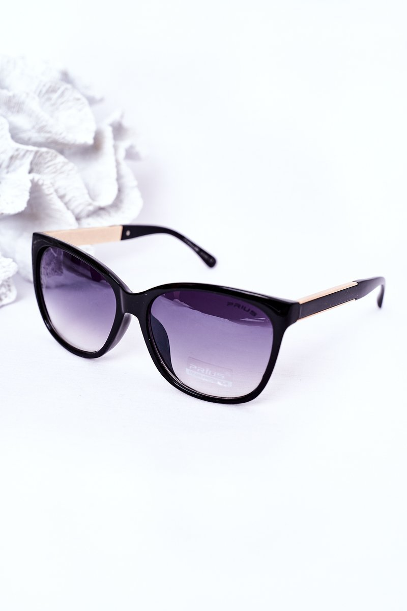 Women's Sunglasses Black With Grey Ombre
