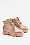 Children's Trapers Boots Warm Champagne Dexter