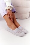 Openwork Slip-On Sneakers Grey Chillout