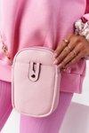 Small Women's Waist Sachet Cross Bag Amsterdam Pink
