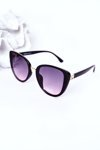 Women's Butterfly Sunglasses Black With Pink Ombre