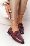 Women's Loafers Sergio Leone PB253 Burgundy