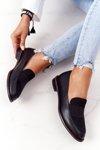 Women's Loafers Sergio Leone PB255 Black